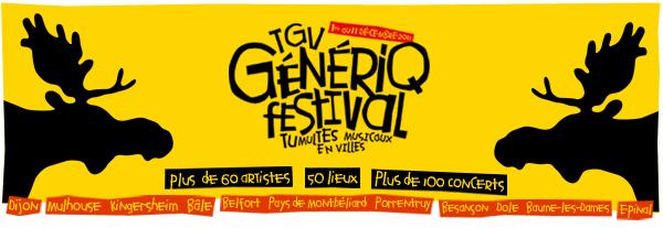 TGV GénériQ Festival